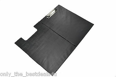 Black A4 Clipboard Single & Fold-Over School And Office Use Choose Quantity • 1.99£