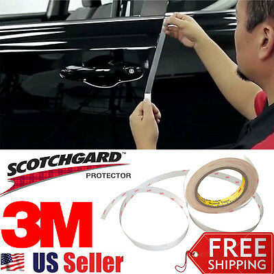$15.91 • Buy 20 Ft 3M Clear Door Edge Protector Strip Anti Scratch Guard Protection INVISIBLE