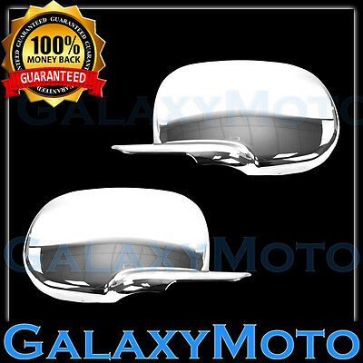 $55.42 • Buy Triple Plated Chrome Mirror Cover Overlay -1 Pair For 94-01 Dodge RAM Truck