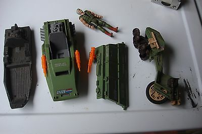 $ CDN74.41 • Buy GI Joe 1980's Vintage Lot Of Parts,guns, Vehicles+parts, Helmets, Back Pak, L@@K