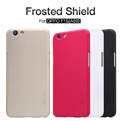 AU14.99 • Buy OPPO F1S Case NILLKIN Super Frosted Shield Case Cover For OPPO F1S