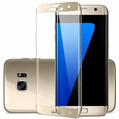 $ CDN6.09 • Buy Full Curved 3D Tempered Glass Screen Protector Fit For Samsung Galaxy S7 Edge