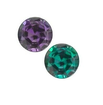 AU257.91 • Buy Natural Extra Fine Alexandrite - Round - Brazil - AAA 1.5mm-4mm