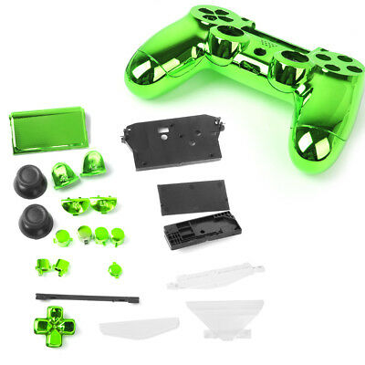 AU15.45 • Buy Metal Plated Full Housing Shell Case Kit Parts For Sony PS4 Controller Green