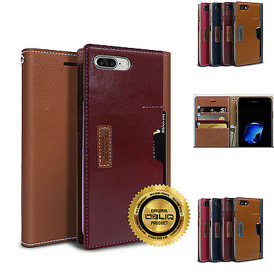 AU34.99 • Buy OBLIQ Wallet Case Leather With Credit Card Pocket Slot For IPhone 7 Plus