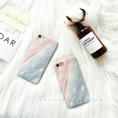 AU4.17 • Buy For IPhone8 8Plus 7 Plus 6Plus Coral Marble Flexible Protective Phone Cover Case