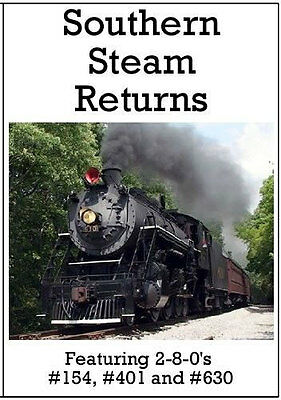 £14.20 • Buy Southern Railway Steam Returns DVD Featuring 2-8-0's #154 #401 #630