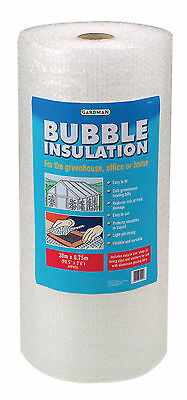 Gardman Greenhouse Bubble Insulation Pack With Clips 30x0.75m • 22.30£