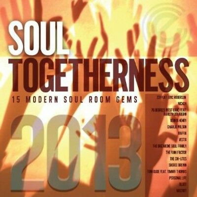 Various Artists - Soul Togetherness 2013 / Various [New CD] UK - Import • 10.76£
