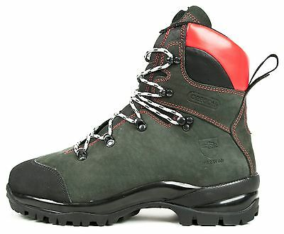 Brand New Oregon Fiordland Leather Chainsaw Safety Boots Class 2 All Sizes • 137£