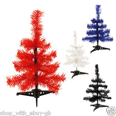 £5.99 • Buy 30cm Small Christmas Table Top Desk Artificial Mini Xmas Tree Decoration Office