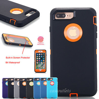 AU8.69 • Buy F IPhone 6 S/7/8 Plus XS Max XR 11 Pro Hybrid Shockproof Heavy Duty Defense Case