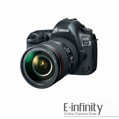 $ CDN3797.93 • Buy NEW Canon EOS 5D Mark IV DSLR Camera + EF 24-105mm F/4L IS II USM Lens