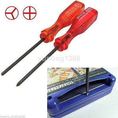 Durable Cross Tri-Wing Triangle Screwdriver For Nintendo GBA/GBC/NDS/ Lite/Wii • 1.65£