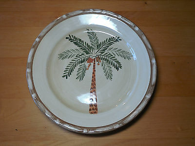$8 • Buy Home Trends WEST PALM Dinner Plate 10 3/8  Green Brown 1 Ea      19 Available