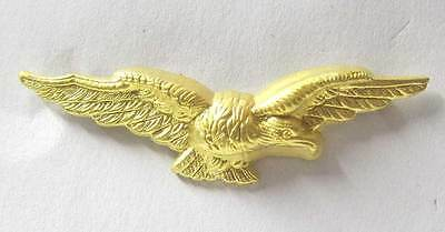 £12.99 • Buy RAF Officer Cap Badge Eagle WW2 WWII Hat Royal Air Force Albatross New Brass