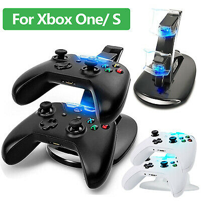 $12.97 • Buy LED Dual Fast Charging Dock Station Charger For Xbox One / Xbox One S Controller