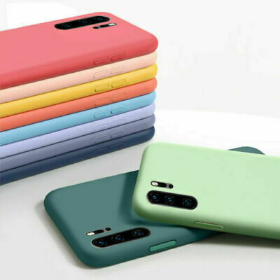 £2.99 • Buy Liquid Silicone ShockProof Case Cover For Huawei P40 P30 Pro P20 Lite P Smart