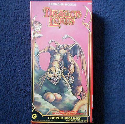 1984 Copper Dragon Lords Grenadier Models 2508 Dungeons & Dragons AD&D Wyrm • 65£