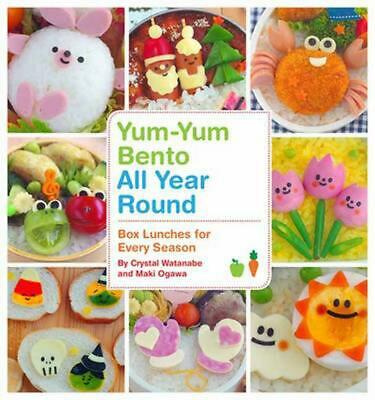 AU39.50 • Buy Yum-Yum Bento All Year Round: Box Lunches For Every Season By Crystal Watanabe (
