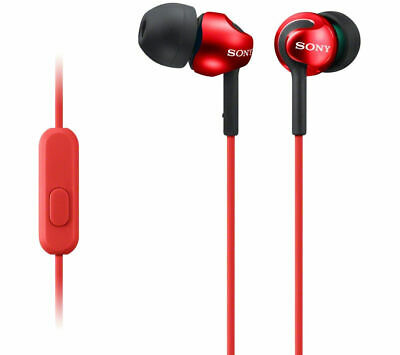 SONY MDR-EX110APR Headphones - Red - Currys • 11.99£