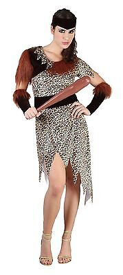 £9.99 • Buy Adult Women / Girls 10000 BC Costume Ladies Cave People Fancy Dress Outfit