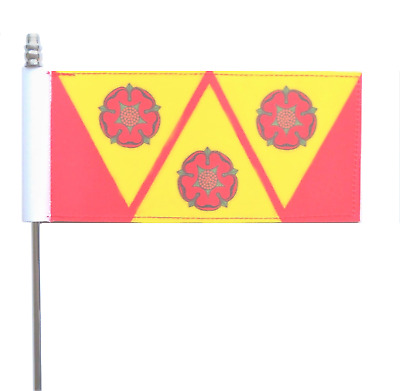 Lancashire County Council 3 Roses Crest Ultimate Table Flag • 13£