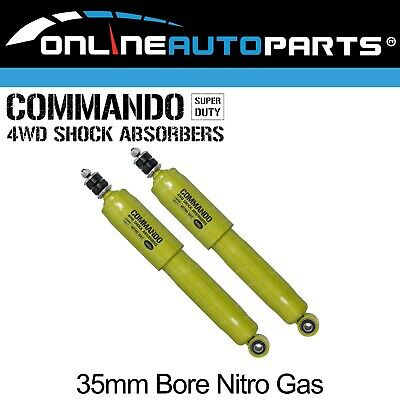 AU109.95 • Buy 2 Nitro Big 35mm Bore FRONT Shock Absorbers Pair - Commando Gas - Left + Right