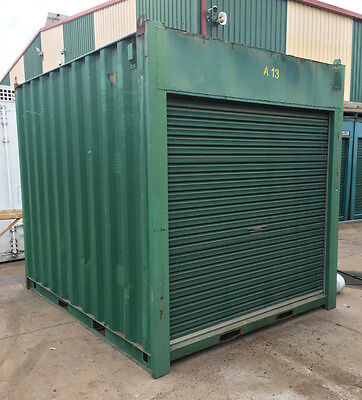 AU2499 • Buy Used 10ft / 3m Long Approx 8'6 High Shipping Container / Portable Storage Shed