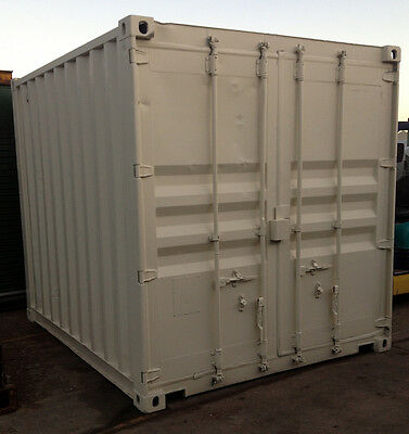 AU3975 • Buy 10ft / 3m Long Approx 8'6 High Shipping Container / Portable Storage Shed