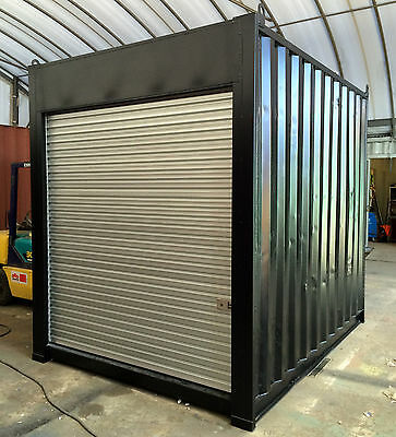 AU4575 • Buy 10ft / 3m Long Approx 9'6 High Shipping Container, Storage Shed With Roller Door
