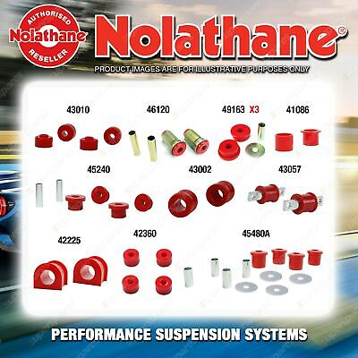 AU630 • Buy Front Nolathane Suspension Bush Kit For MITSUBISHI PAJERO NH NJ NK NL 1991-2000