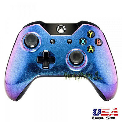 Glossy Chamillionaire Design Front Shell Faceplate For Xbox One Controller • 8.79$