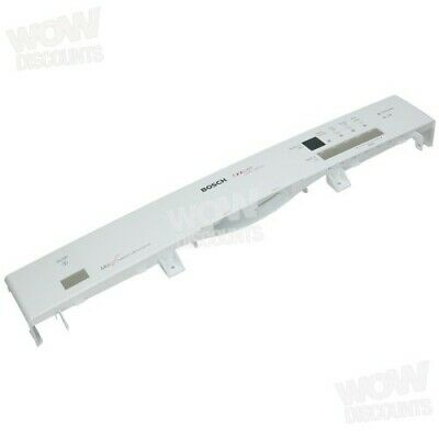 Bosch Dishwasher White Control Panel Facia (Genuine Part Number 434127) • 41.73£