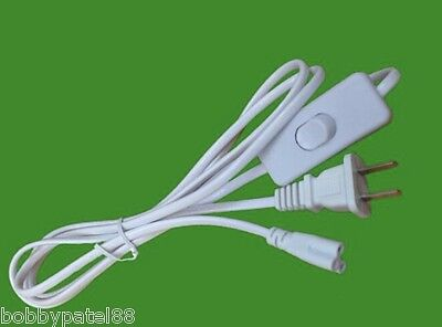 $9.99 • Buy USA Plug T5 T8 T12 LED Tube Power Connector 3 Pin Pigtail AC Power Cord 6FT