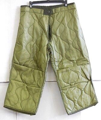 $9.99 • Buy Unissued Us Military M-65 Cold Weather Quilted Field Pants Liner (xs Reg/sht)