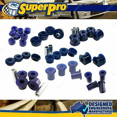 AU397.28 • Buy Rear Superpro Suspension Bush Kit For MITSUBISHI PAJERO NH NJ NK NL 1991-2000