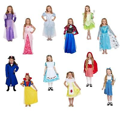 Girls Fancy Dress Costume Child Outfit Dressing Up Party World Book Day NEW • 11.83£