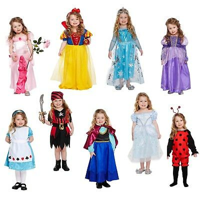 Girls Toddler Fancy Dress Costume Outfit Dressing Up Party World Book Day NEW • 10.87£