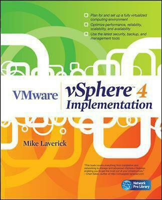 AU97.12 • Buy VMware VSphere 4 Implementation By Mike Laverick (English) Paperback Book Free S