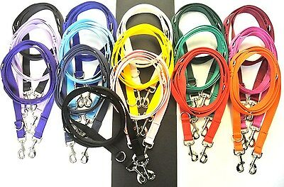 Police Style Dog Training Lead Double Ended Obedience Leash Multi-Functional • 7.75£