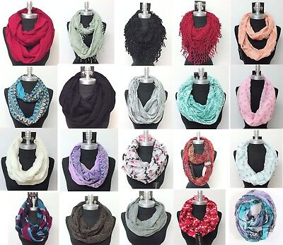 $6.99 • Buy HIGH QUALITY New Women Fashionable Infinity Scarf Wrap Cowl Circle Loop Scarves