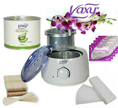 Wax Warmer Hair Removal Waxing Kit Total Home Or Salon  Waxing Solutions For All • 25.49£