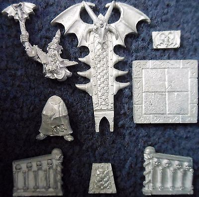 1995 Undead Dread King Throne Catacombs Of Terror Citadel Warhammer Quest Liche • 120£