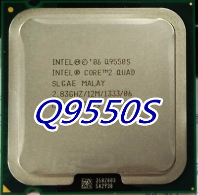 $ CDN81.26 • Buy Free ShippiIntel Core 2 Quad Q9550S 2.83 GHz Quad-Core (AT80569AJ073N) Processor