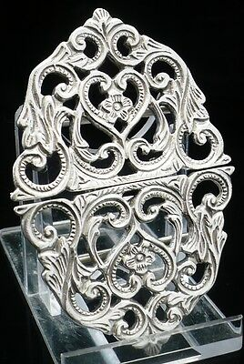 Solid Silver Nurses Belt Buckle, Sterling, NEW, Scottish Hallmarked, GIFT, Boxed • 99.95£
