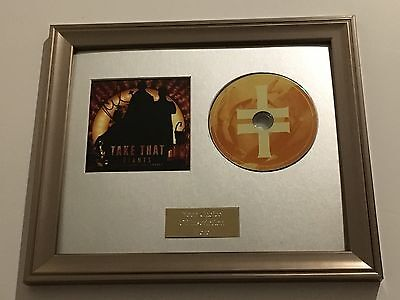 Signed/autographed Take That - Giants Framed Cd Presentation. Gary Barlow • 99.99£
