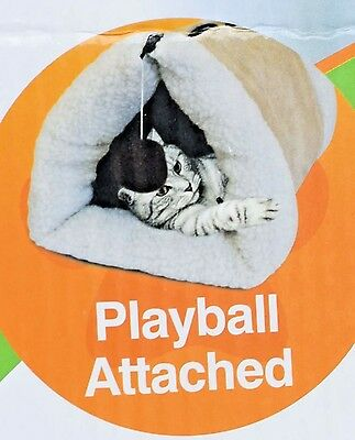 £99.99 • Buy Cat Warm Soft Kitty Tunnel Amazing 2-in1 Tunnel Bed & Mat