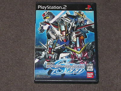 AU19.90 • Buy SD Gundam G GENERATION SEED PS2 - NTSC-J  Japanese Free & Fast Post Complete
