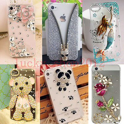 AU14.18 • Buy Girl's Luxury Bling Diamond Crystal Clear Case Cover For IPhone 12 Pro Max 11 XR